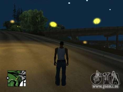 Carré radar de GTA 5 pour GTA San Andreas deuxième écran