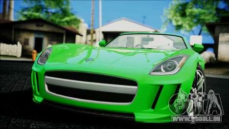 Benefactor Surano pour GTA San Andreas