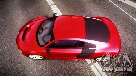 Audi R8 E-Tron 2014 für GTA 4 rechte Ansicht