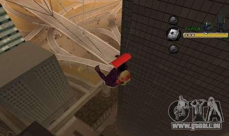 C-HUD TaweR Green pour GTA San Andreas quatrième écran