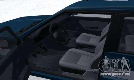 Daewoo-FSO Polonez Kombi 1.6 GSI Police 2000 für GTA San Andreas obere Ansicht