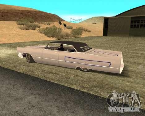 Cadillac DeVille Lowrider 1967 für GTA San Andreas Innenansicht