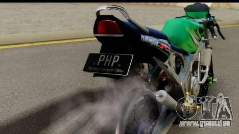 Kawasaki Ninja R Drag für GTA San Andreas rechten Ansicht