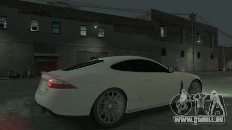 Jaguar XK v.2.0 für GTA 4 Innenansicht