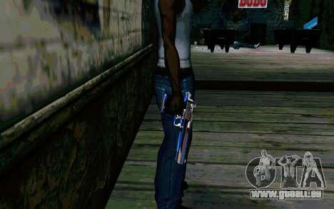 Blue Dragon Deagle pour GTA San Andreas deuxième écran