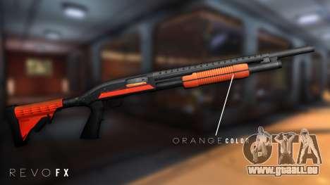 Orange Shotgun pour GTA San Andreas deuxième écran