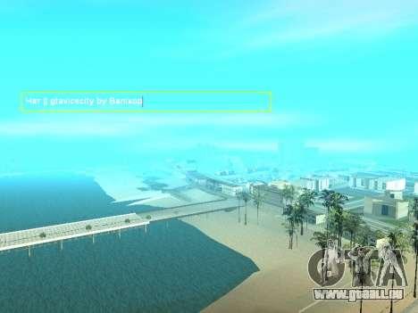 SampGUI Vagos Gang pour GTA San Andreas deuxième écran