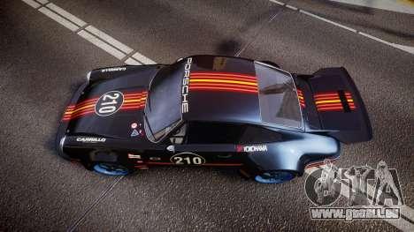 Porsche 911 Carrera RSR 3.0 1974 PJ210 pour GTA 4 est un droit