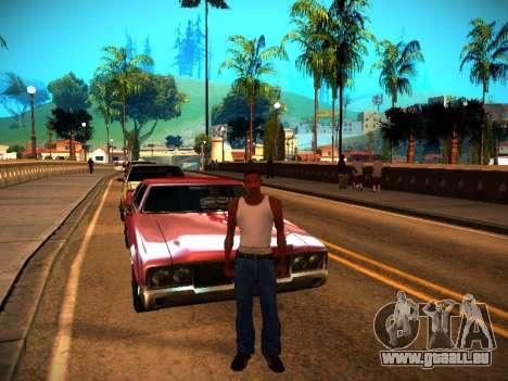 ENB v1.3 pour les faibles PC pour GTA San Andreas sixième écran