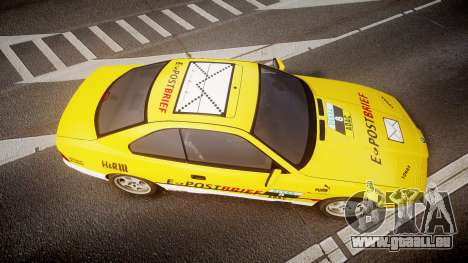 BMW E31 850CSi 1995 [EPM] E-Post Brief pour GTA 4 est un droit