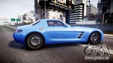 Mersedes-Benz SLS AMG 2010 für GTA 4 linke Ansicht