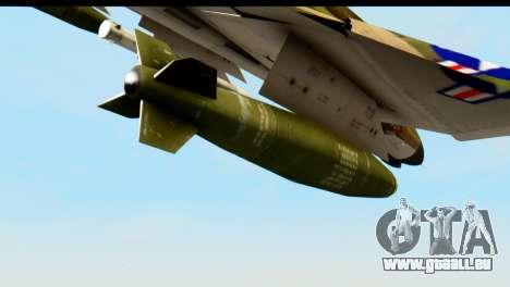 F-4 Vietnam War Camo für GTA San Andreas rechten Ansicht