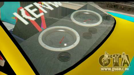 Opel Manta für GTA San Andreas zurück linke Ansicht