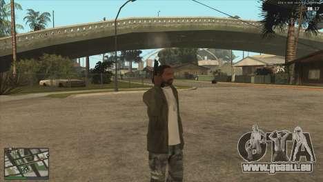 M9 Killing Floor pour GTA San Andreas troisième écran