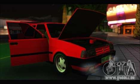 Tofas Dogan SLX Metalist (Arch Enemy) pour GTA San Andreas vue intérieure