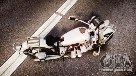 BMW R75 black tires pour GTA 4 est un droit