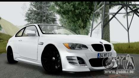 BMW M3 E92 Hamann Edition für GTA San Andreas