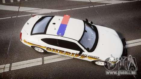 Dodge Charger 2006 Sheriff Liberty [ELS] pour GTA 4 est un droit