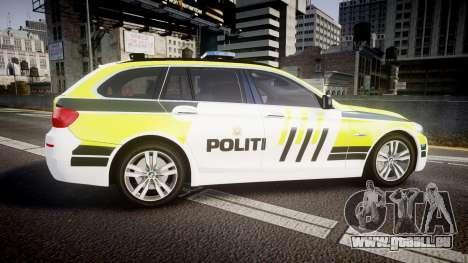 BMW 530d F11 Norwegian Police [ELS] pour GTA 4 est une gauche
