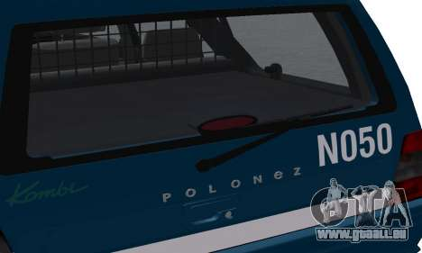 Daewoo-FSO Polonez Kombi 1.6 GSI Police 2000 für GTA San Andreas