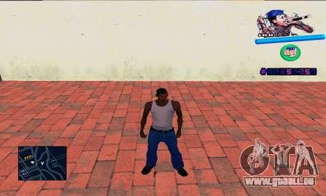 C-HUD Wiz Khalifa für GTA San Andreas