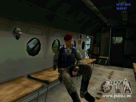 Le Contremaître De L'Aigle pour GTA San Andreas sixième écran