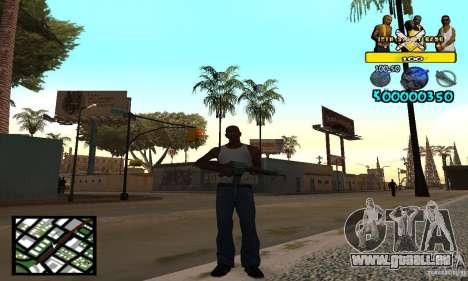 Tawer Getto HUD für GTA San Andreas zweiten Screenshot