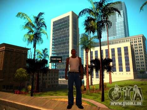 ENB v1.3 pour les faibles PC pour GTA San Andreas quatrième écran