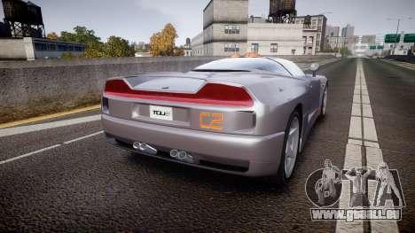 BMW Italdesign Nazca C2 v5.1 pour GTA 4 Vue arrière de la gauche