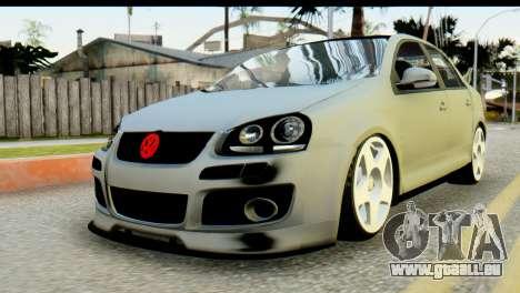 Volkswagen Bora GLI 2010 Tuned für GTA San Andreas