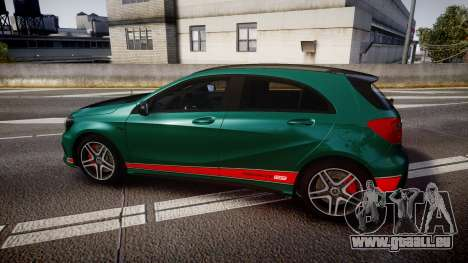 Mersedes-Benz A45 AMG PJs4 pour GTA 4 est une gauche