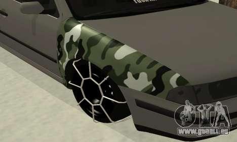 Skoda Octavia Winter Mode für GTA San Andreas Seitenansicht