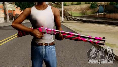 Red Tiger Shotgun pour GTA San Andreas troisième écran