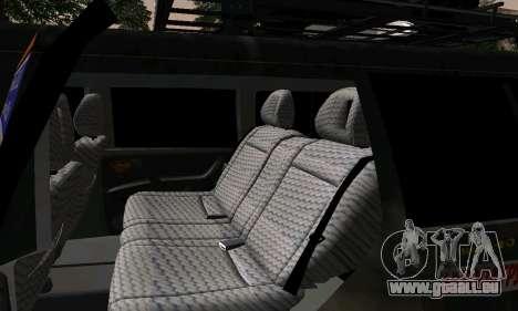 Mitsubishi Pajero Off-Road pour GTA San Andreas vue de côté
