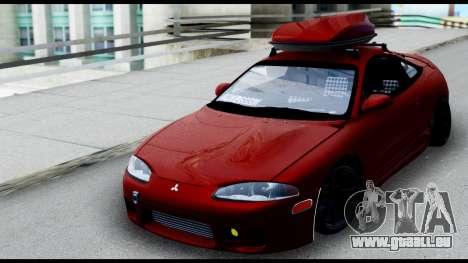 Mitsubishi Eclipce pour GTA San Andreas vue de droite