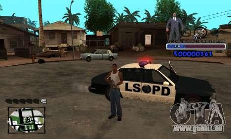 FBI C-HUD pour GTA San Andreas deuxième écran