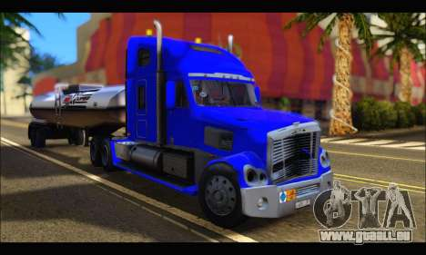 Freightliner Coronado v.2 für GTA San Andreas Rückansicht