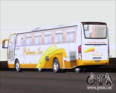 Busscar Vissta Buss LO Pullman Sur für GTA San Andreas Seitenansicht
