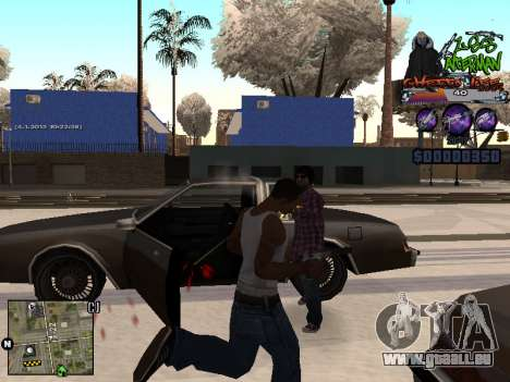 C-HUD Les Alterman für GTA San Andreas her Screenshot