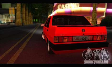 Tofas Dogan SLX Metalist (Arch Enemy) pour GTA San Andreas vue de droite