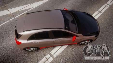 Mersedes-Benz A45 AMG PJs4 pour GTA 4 est un droit