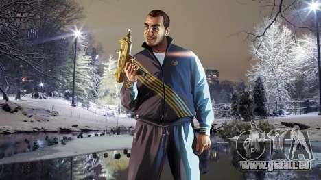L'hiver écrans de démarrage pour GTA 4 cinquième écran