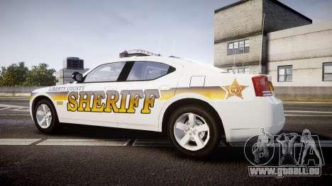 Dodge Charger 2006 Sheriff Liberty [ELS] pour GTA 4 est une gauche