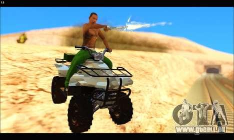 ATV Army Edition v.3 pour GTA San Andreas laissé vue