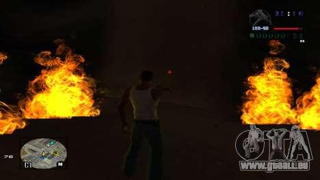 C-HUD Politra pour GTA San Andreas quatrième écran