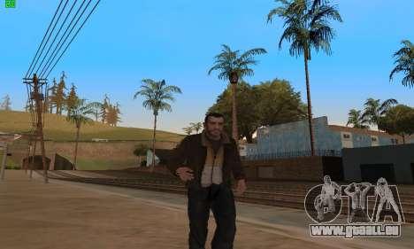 Des Animations à partir de GTA 4 pour GTA San Andreas deuxième écran