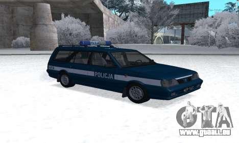 Daewoo-FSO Polonez Kombi 1.6 GSI Police 2000 pour GTA San Andreas