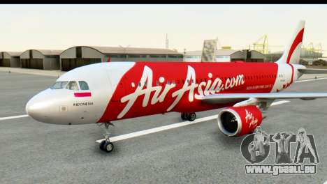 Airbus A320-200 Indonesia AirAsia pour GTA San Andreas