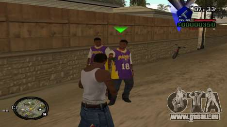 C-HUD by Kidd pour GTA San Andreas deuxième écran