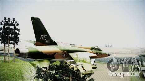 F-105 Thunderchief Polish Glider für GTA San Andreas linke Ansicht